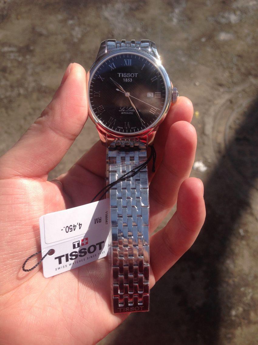 天梭T41.1.483.53手表【表友晒单作业】历经了2天...