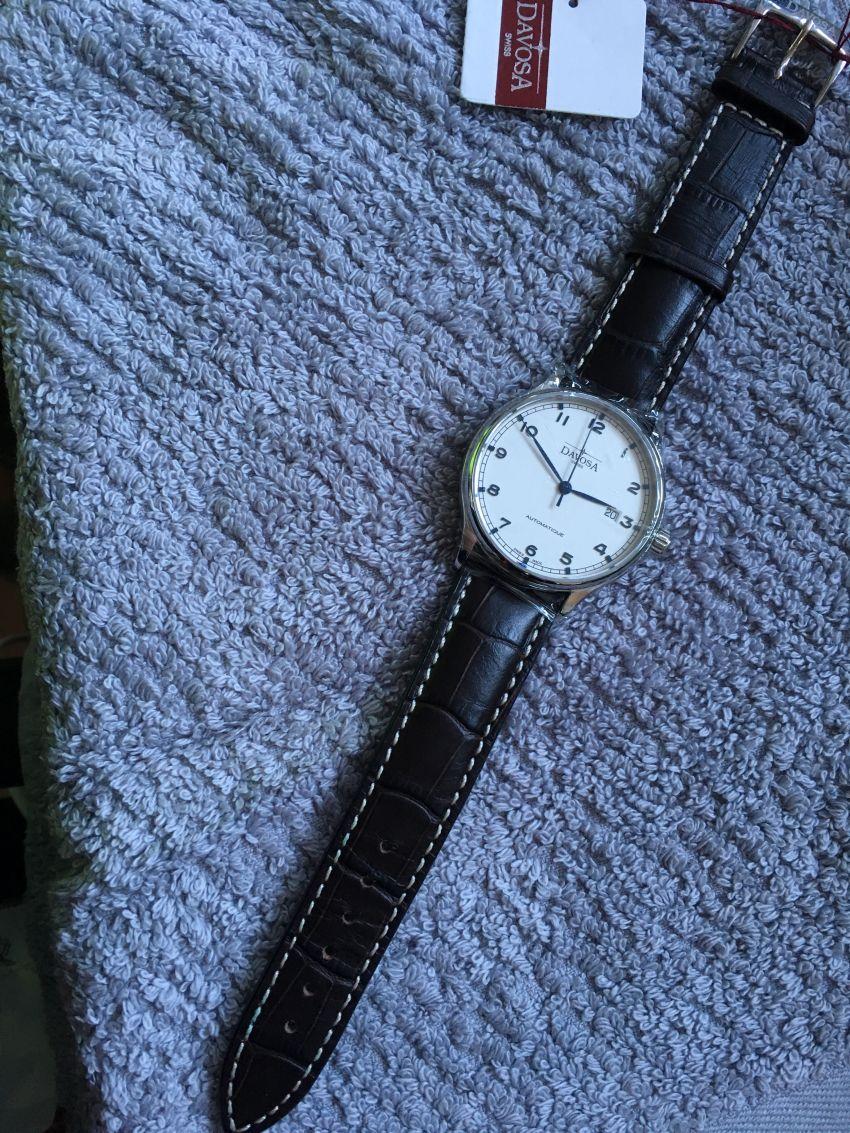 迪沃斯16145615手表【表友晒单作业】年前买的,...