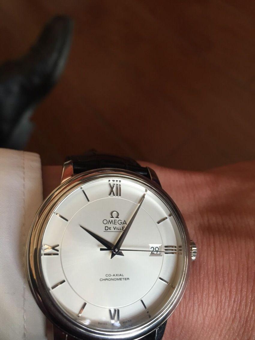 欧米茄424.13.40.20.02.001手表【表友晒单作业】手表购买一...
