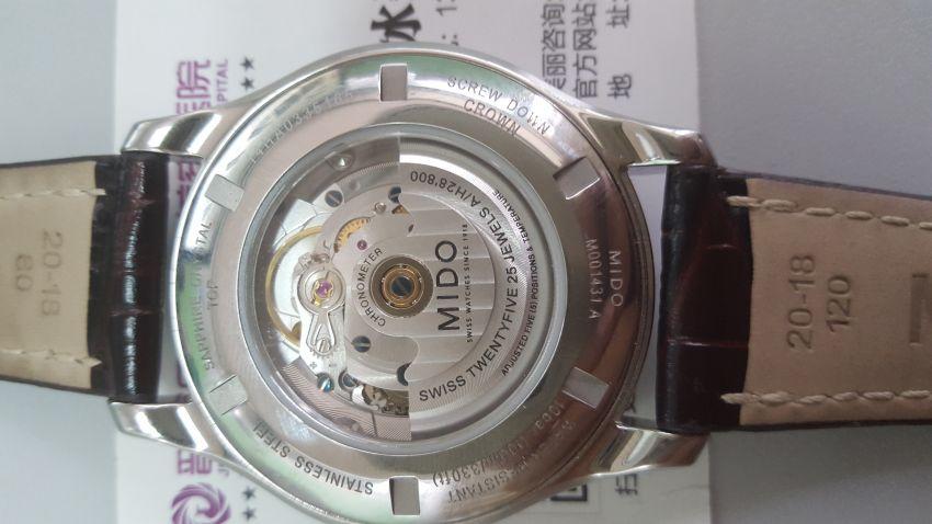 美度M001.431.16.031.12手表【表友晒单作业】人生的第一...