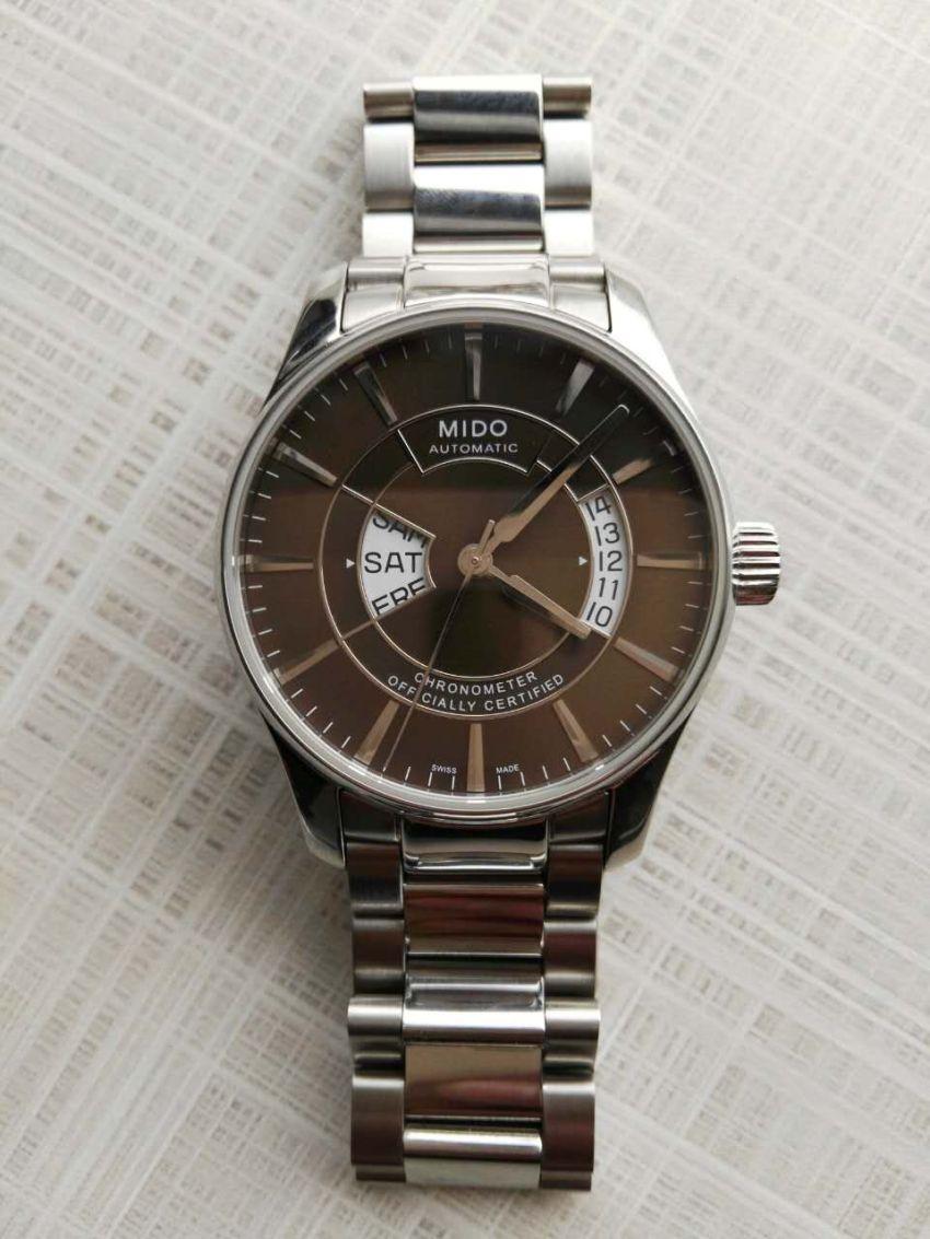 美度M001.431.11.291.02手表【表友晒单作业】万表给现调...