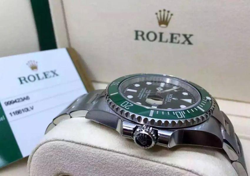 劳力士116610-LV-97200绿手表【表友晒单作业】绿鬼,梦想...