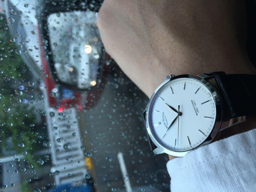 艾美达9670A-AG-P670NR1手表【表友晒单作业】漂亮。就是...