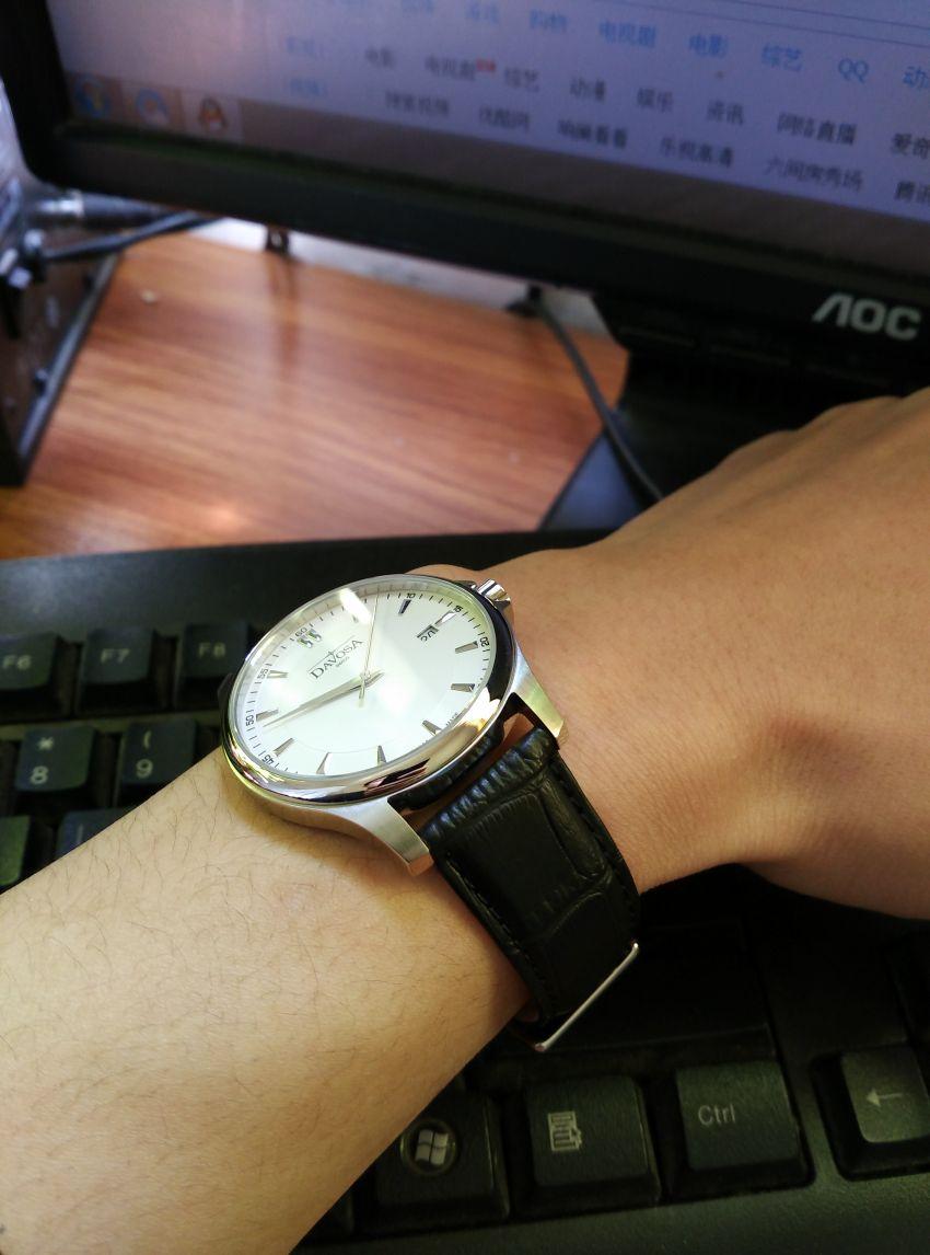 迪沃斯16246615手表【表友晒单作业】货已收到,...