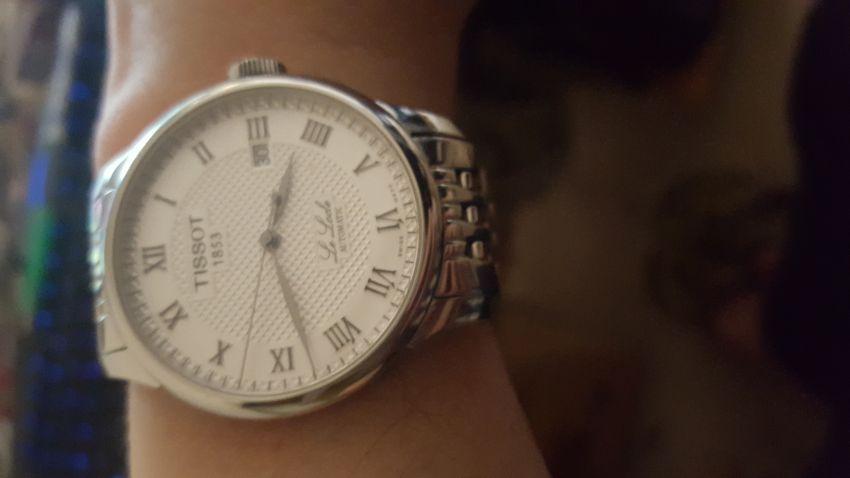 天梭T41.1.483.33手表【表友晒单作业】表是可以...