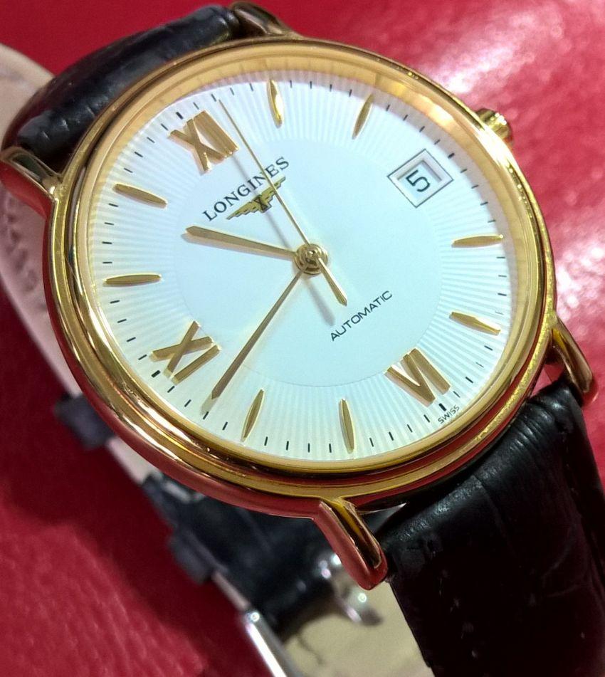 浪琴L4.821.2.15.7手表【表友晒单作业】还行,戴一...