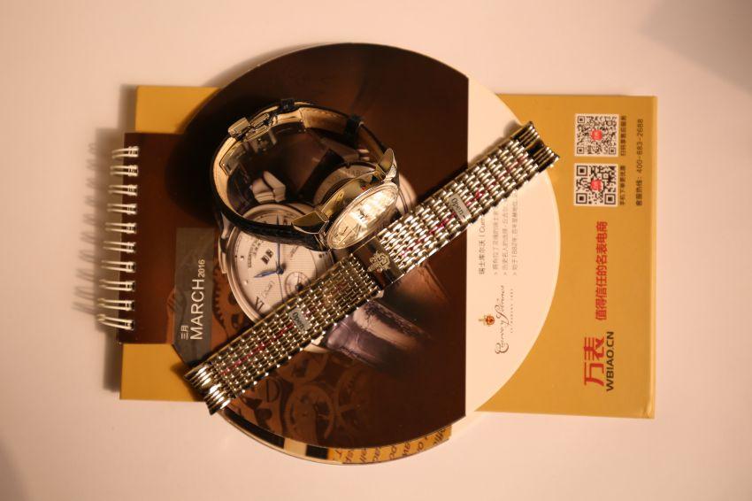 库尔沃3194.1A(蓝色表带)手表【表友晒单作业】在万表网购...