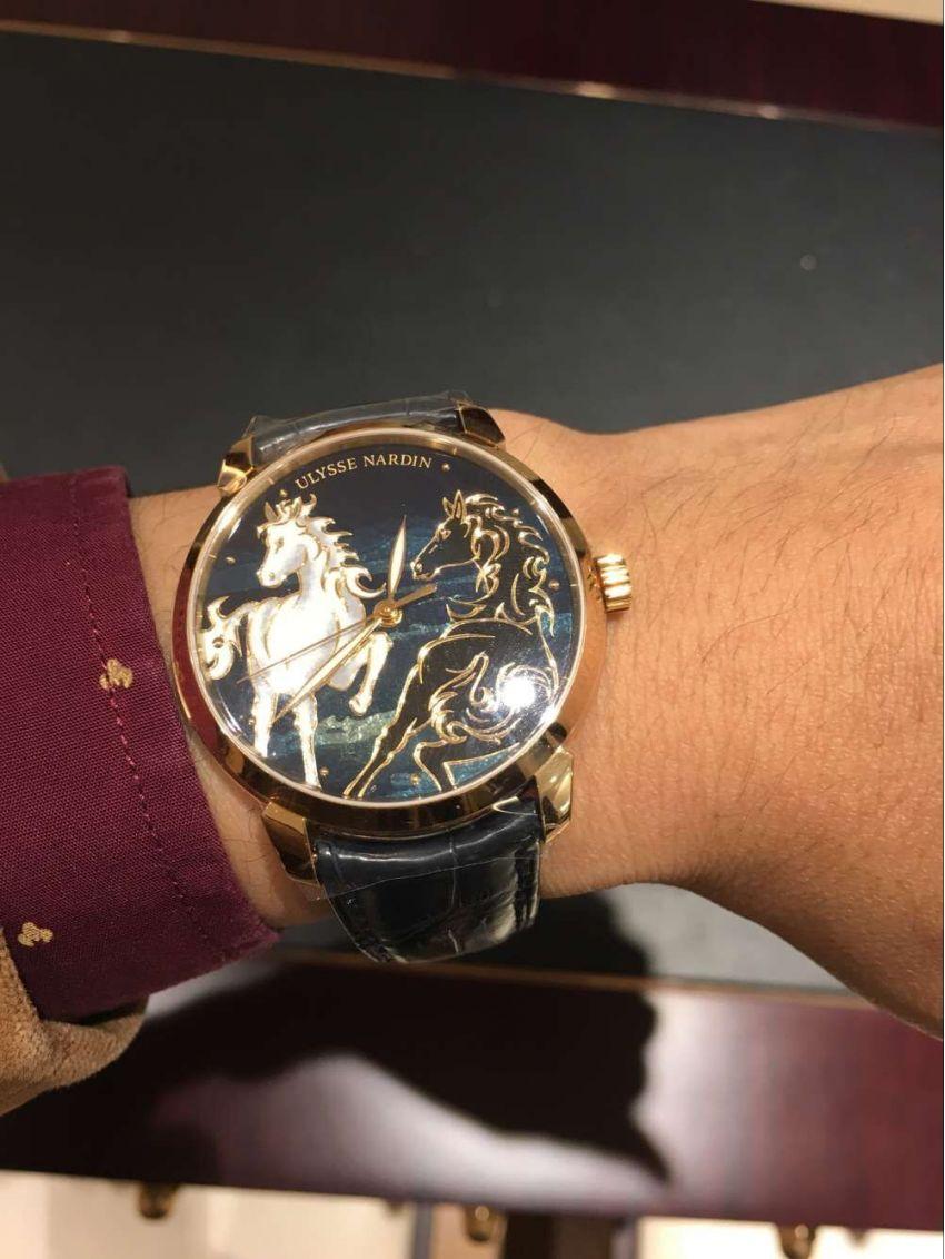 雅典8156-111-2/CHEVAL手表【表友晒单作业】大气上档次...