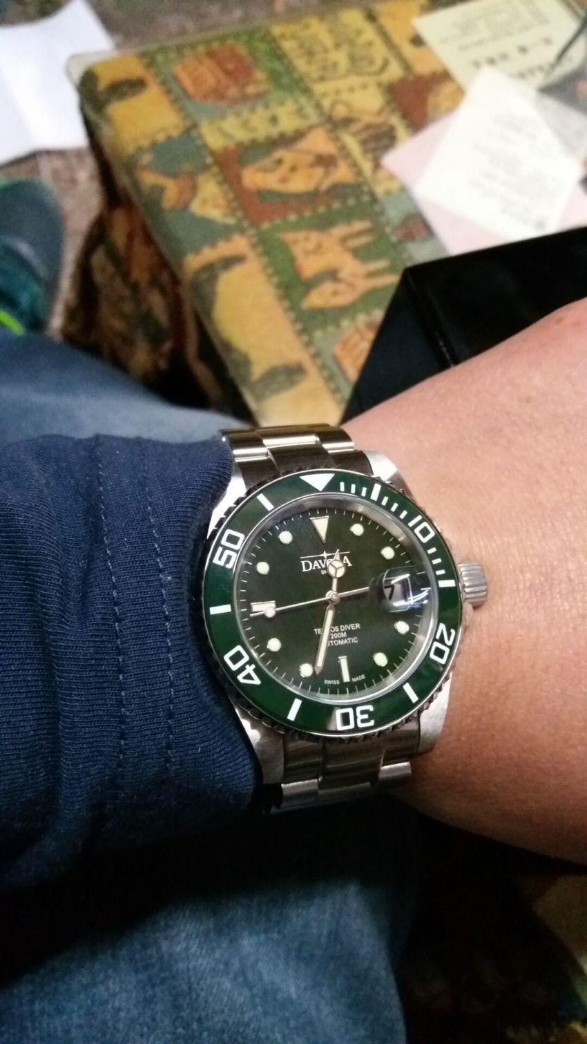 迪沃斯16155570手表【表友晒单作业】手表不错。...