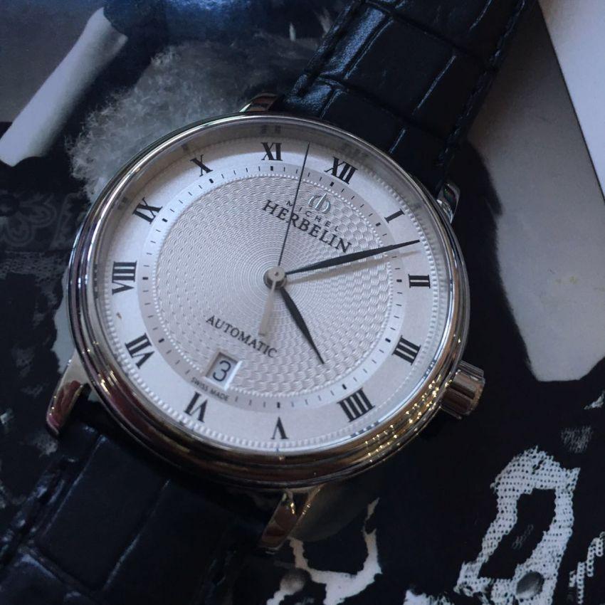 赫柏林1643/08手表【表友晒单作业】手表很好看...