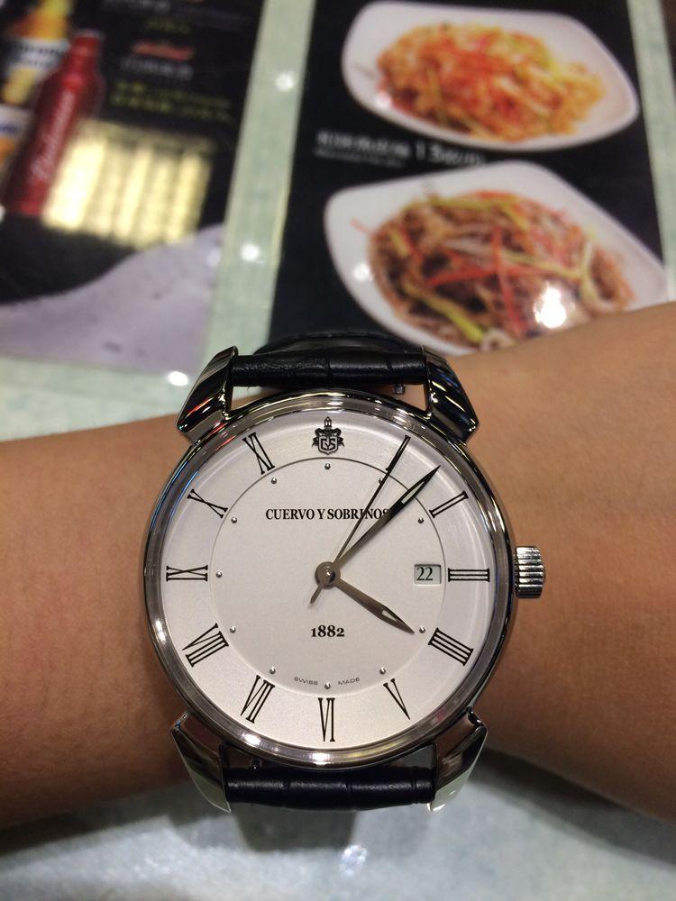 库尔沃3195.1CS.AR手表【表友晒单作业】款式很大气...