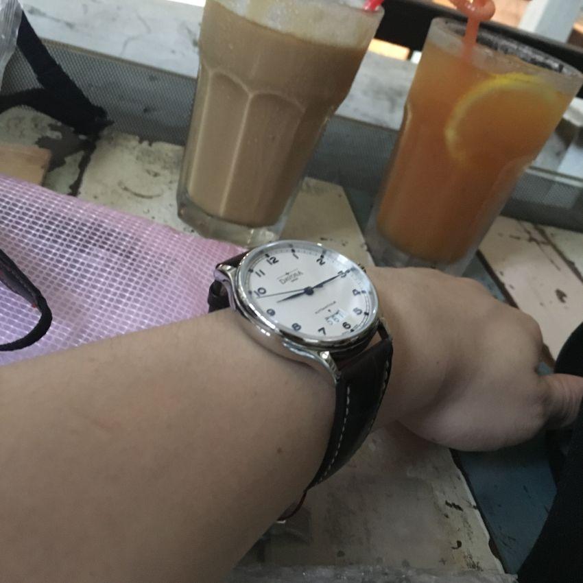 迪沃斯16145616手表【表友晒单作业】很不错的一...