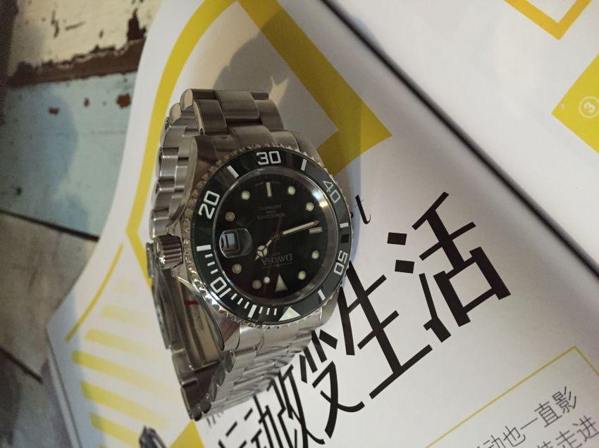 迪沃斯16155570手表【表友晒单作业】绿蛟龙很棒...