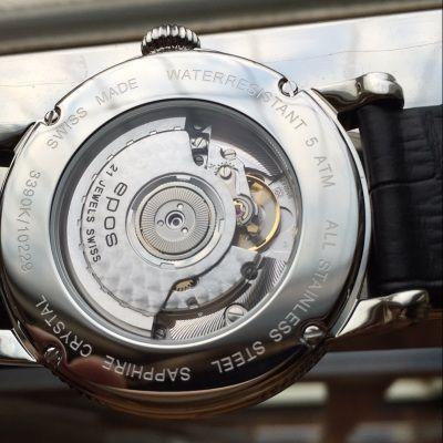 爱宝时3390.152.20.16.25手表【表友晒单作业】特意戴了两...