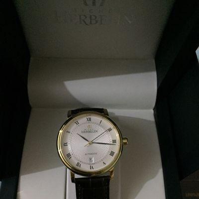 赫柏林1643/P08MA手表【表友晒单作业】手表收到了...
