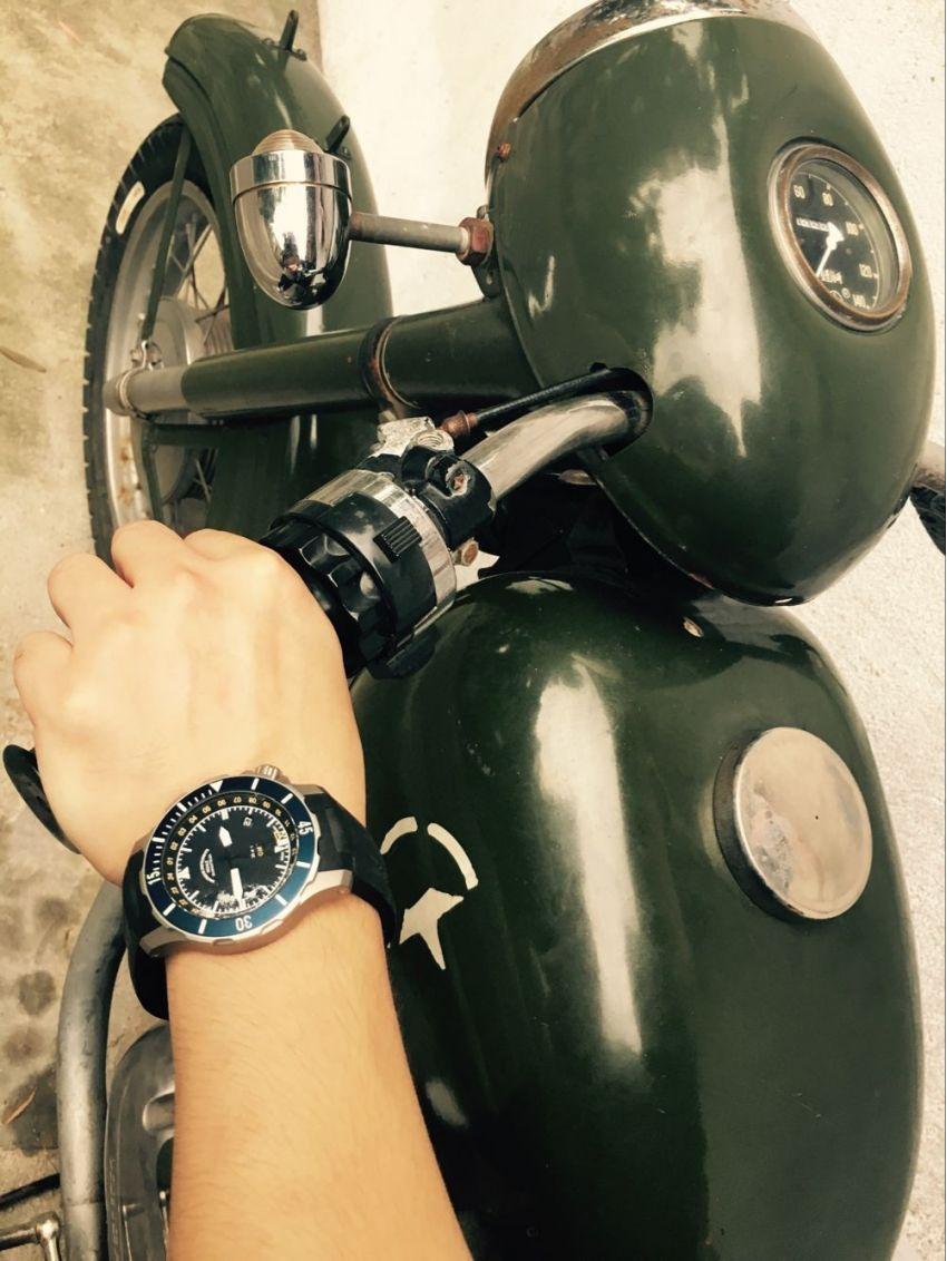 格拉苏蒂·莫勒M1-28-62-KB手表【表友晒单作业】手表戴起来...