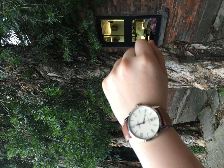 赫柏林1669/07GO手表【表友晒单作业】人生的第一...