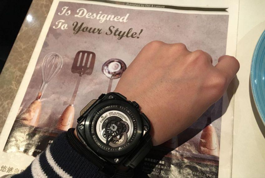 驰客CC-G-BG-001手表【表友晒单作业】非常不错,...