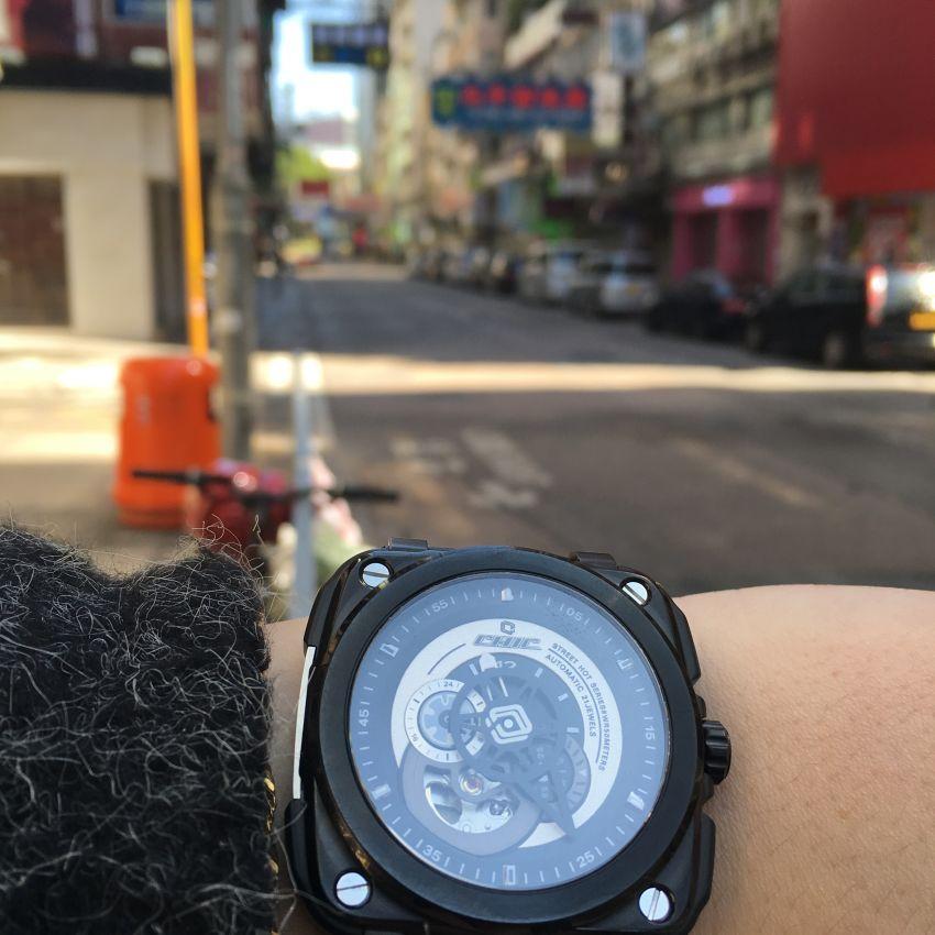 驰客CC-G-BG-001手表【表友晒单作业】蛮百搭的一...