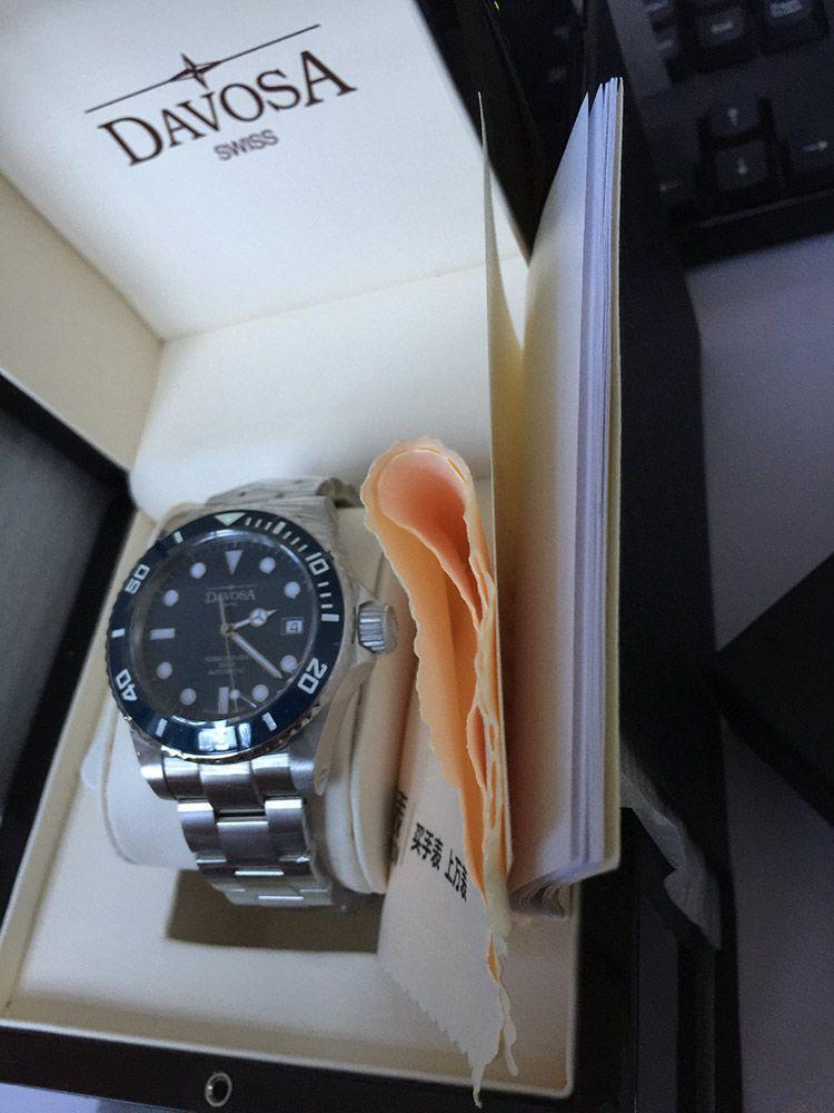 迪沃斯16155640手表【表友晒单作业】今天刚到手...