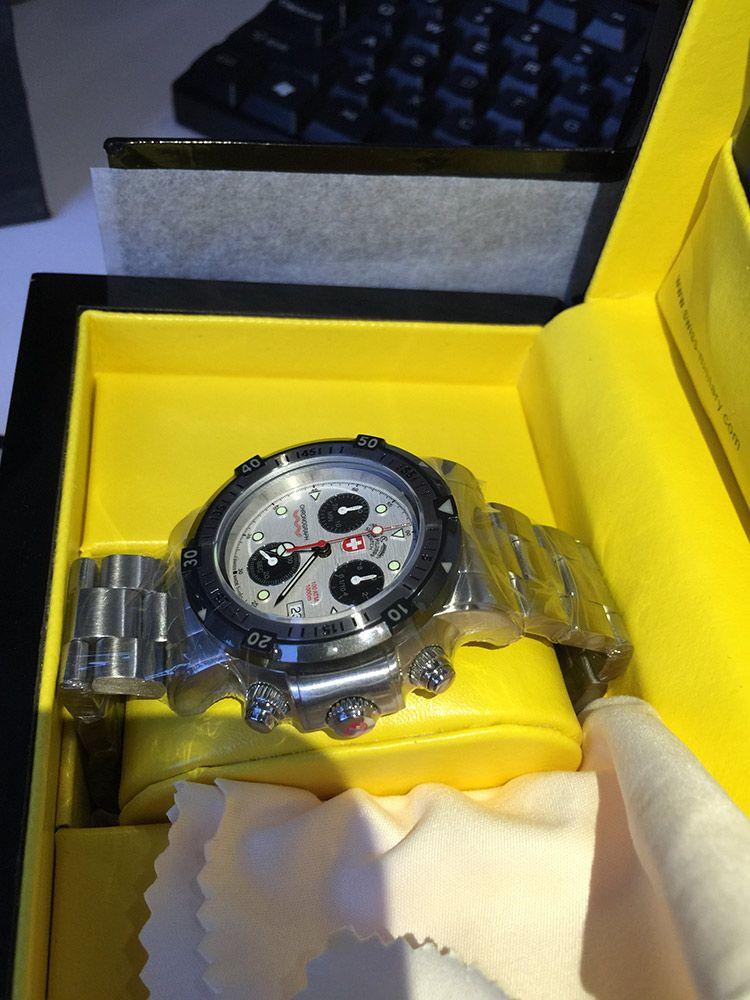 瑞士军表1725手表【表友晒单作业】刚上一波自...