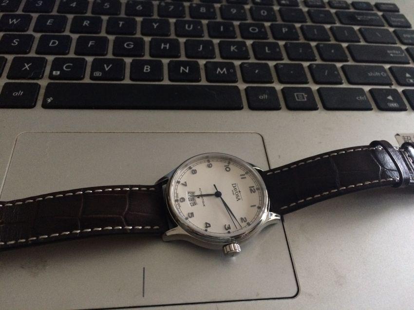 迪沃斯16145616手表【表友晒单作业】经典,耐看...