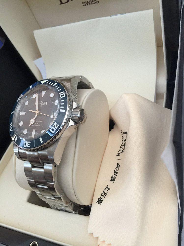迪沃斯16155640手表【表友晒单作业】蓝色的表盘...