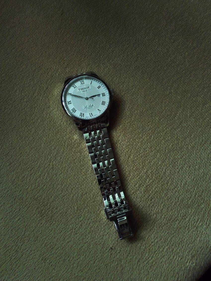 天梭T41.1.483.33手表【表友晒单作业】在万表网买...