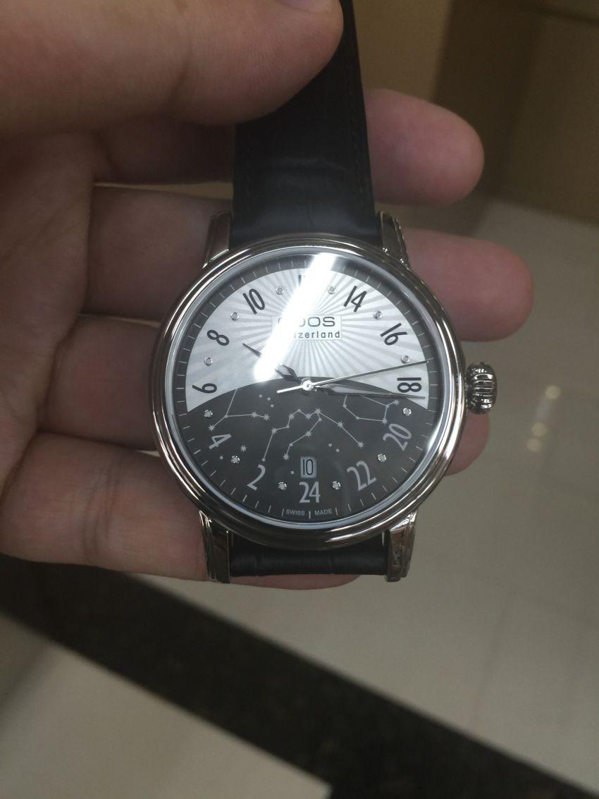 爱宝时3390.302.20.38.25手表【表友晒单作业】表盘很特别...