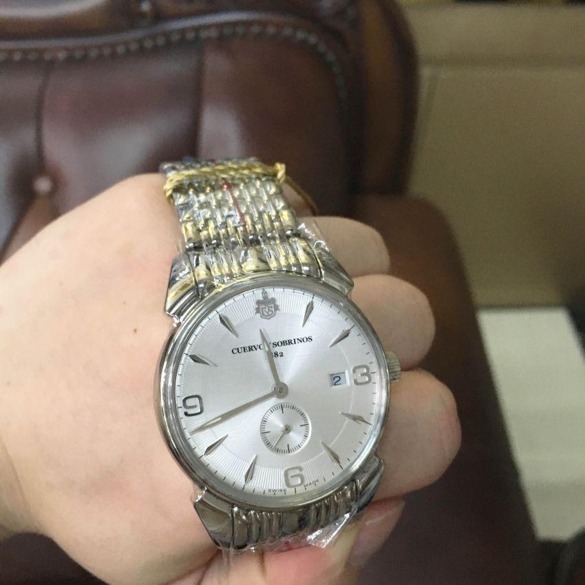 库尔沃3191B.1VAS手表【表友晒单作业】戴了一个月...