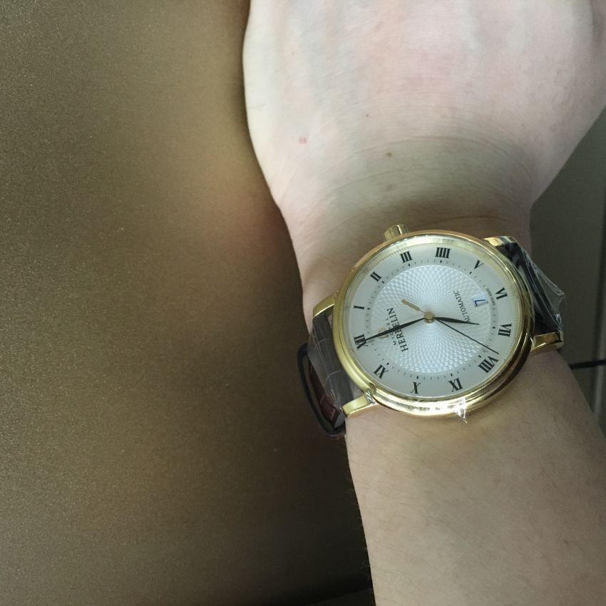 赫柏林1643/P08MA手表【表友晒单作业】还可以,做...