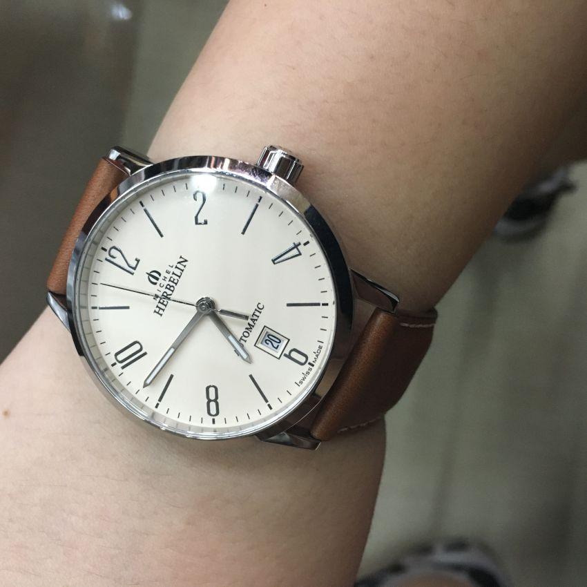 赫柏林1669/07GO手表【表友晒单作业】喜欢这种设...