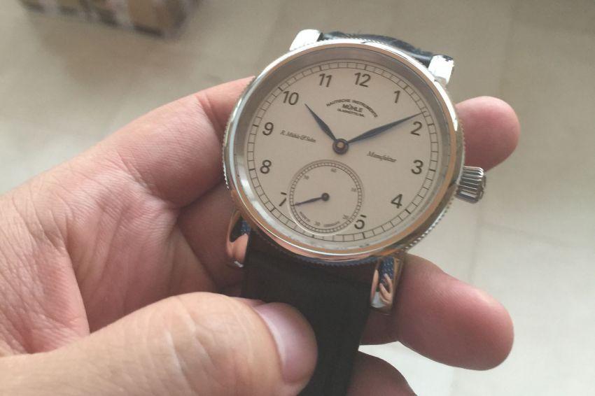 格拉苏蒂·莫勒M1-11-05-LB手表【表友晒单作业】手表戴着挺...
