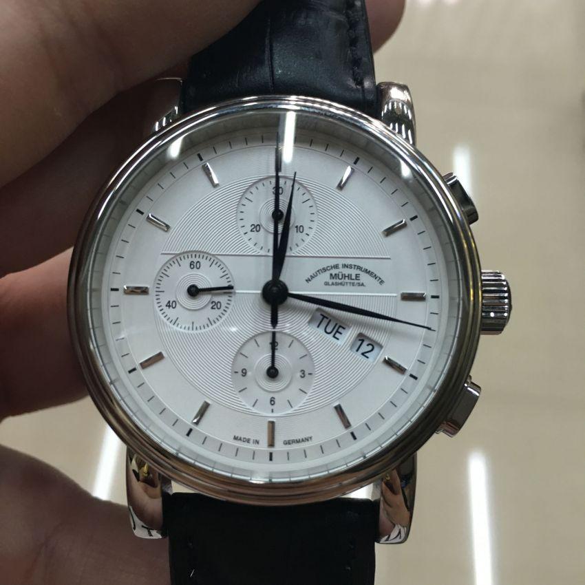 格拉苏蒂·莫勒M1-30-95-LB手表【表友晒单作业】手表是正品...