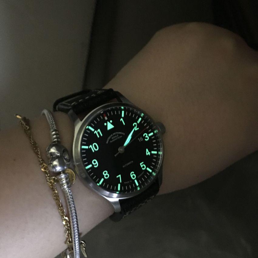 格拉苏蒂·莫勒M1-37-44-LB手表【表友晒单作业】手表很好看...