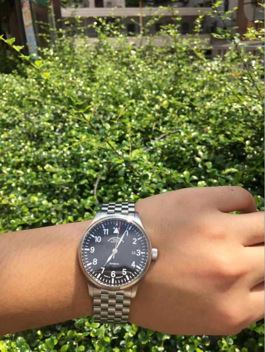 格拉苏蒂·莫勒M1-37-44-MB手表【表友晒单作业】手表款式很...