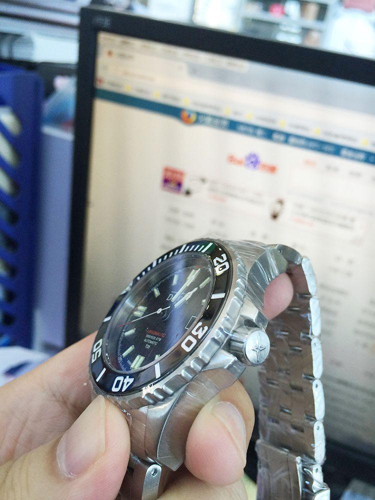 迪沃斯16150920手表【表友晒单作业】寄到公司来...