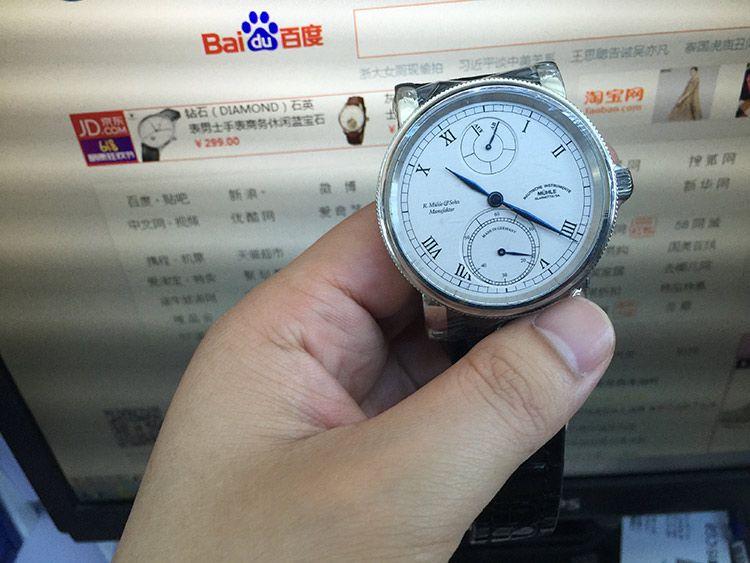 格拉苏蒂·莫勒M1-11-15-LB手表【表友晒单作业】莫勒牌子不...