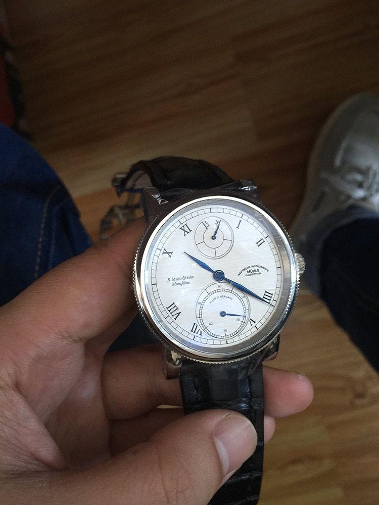 格拉苏蒂·莫勒M1-11-15-LB手表【表友晒单作业】好看。好...