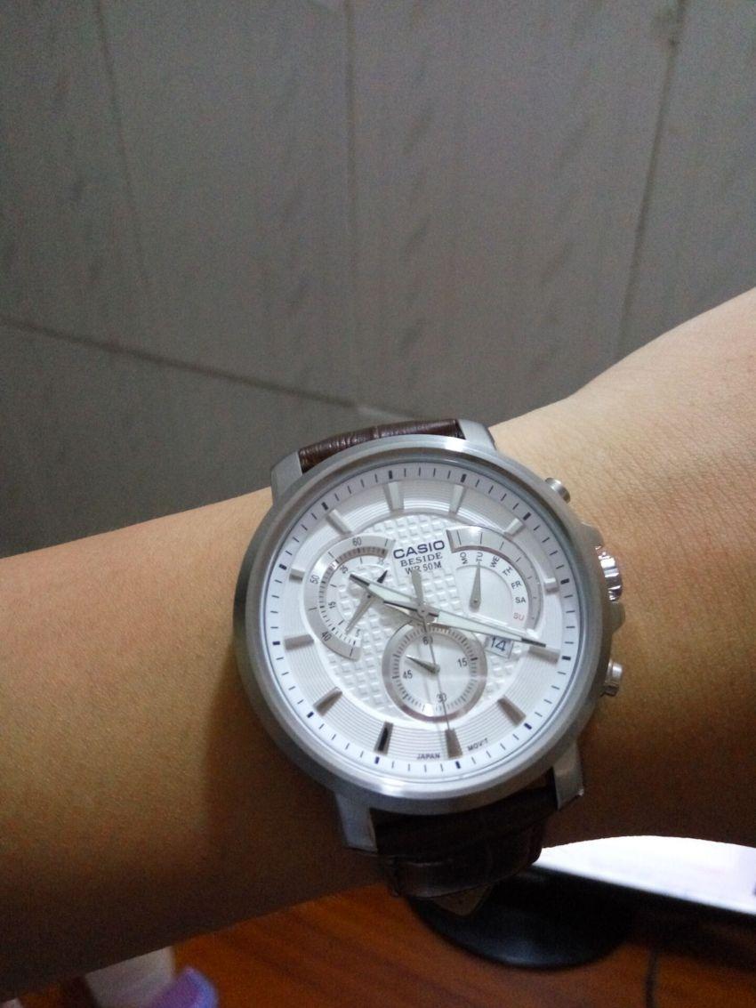 卡西欧BEM-506L-7A手表【表友晒单作业】挺不错的,...