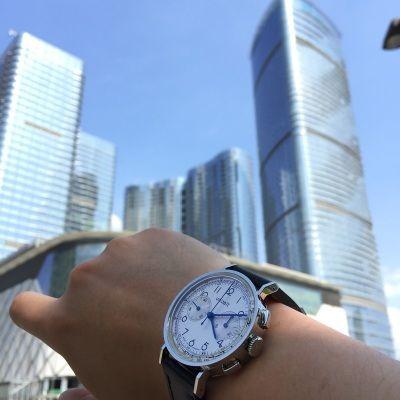 优立时BC001-SL100-00BN手表【表友晒单作业】烧蓝钢针非...
