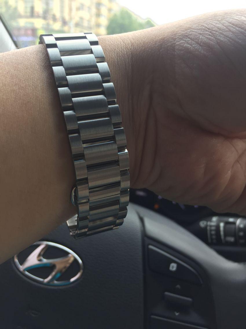 格拉苏蒂·莫勒M1-25-33-MB手表【表友晒单作业】表昨天收到...