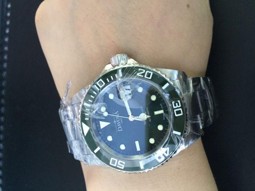迪沃斯16155570手表【表友晒单作业】感觉性价比...