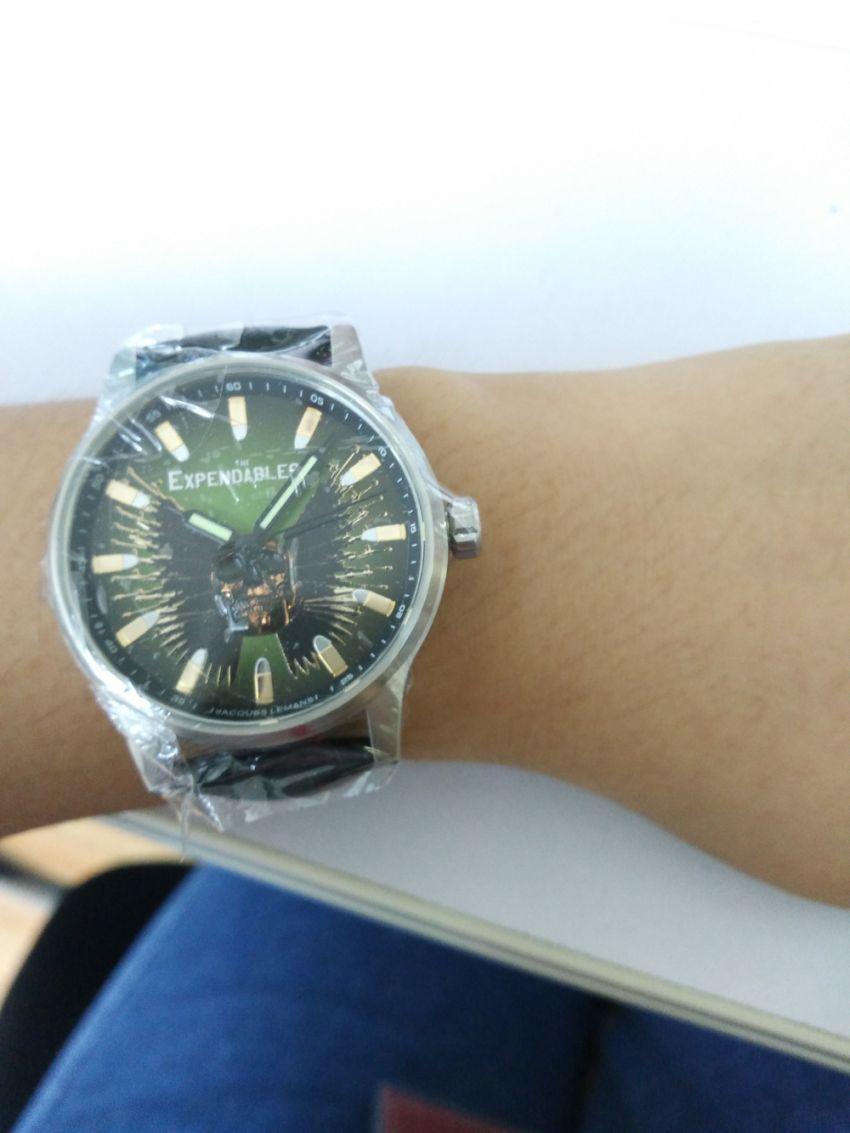 雅克利曼E-226手表【表友晒单作业】手表真的挺...