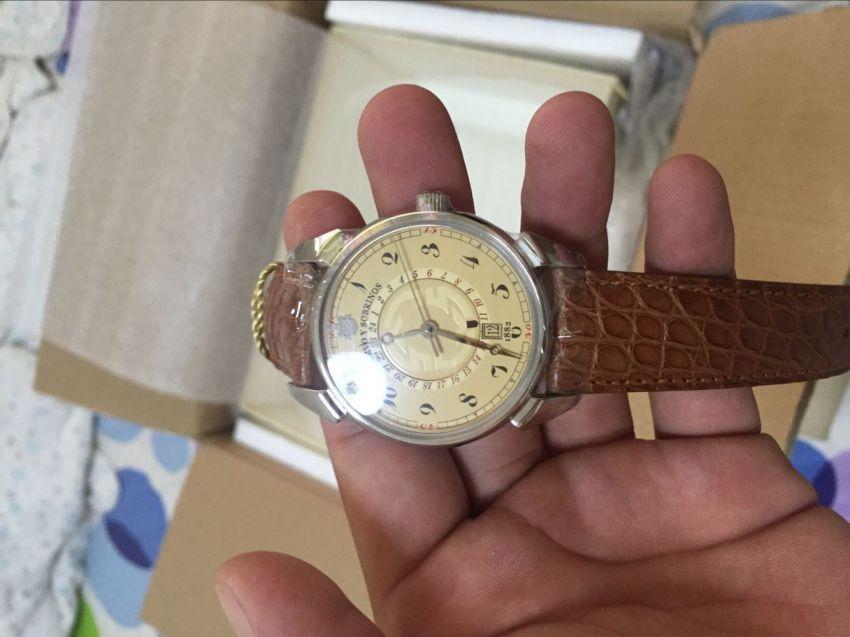 库尔沃3196.1C手表【表友晒单作业】跟想象中的...