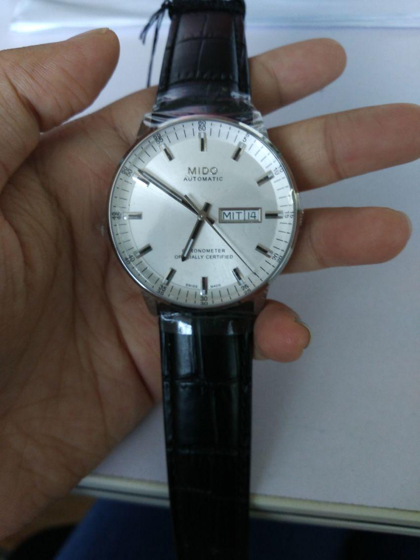 美度M021.431.16.031.00手表【表友晒单作业】手表挺好看...