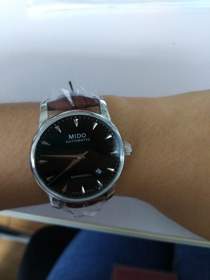 美度M8600.4.18.8手表【表友晒单作业】手表收到了...