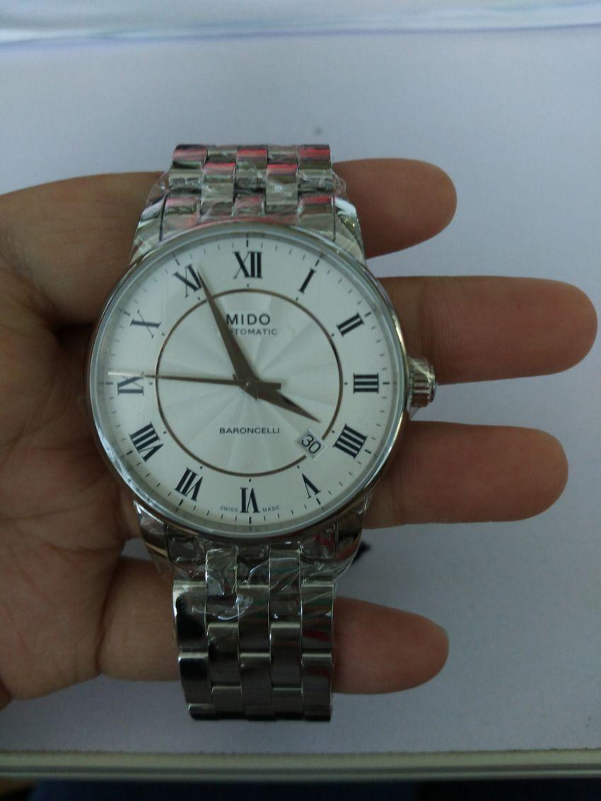 美度M8600.4.21.1手表【表友晒单作业】手表的实物...