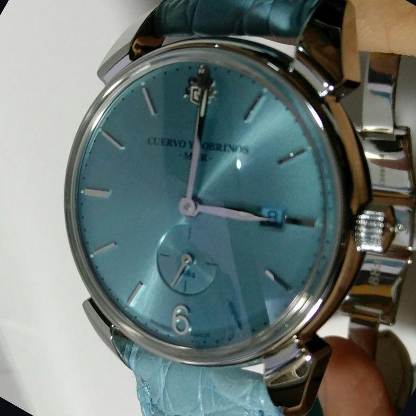库尔沃3191.1MAR手表【表友晒单作业】我也不知道...