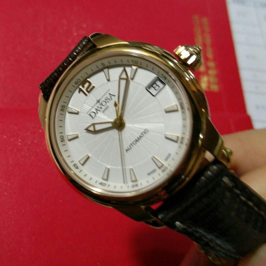 迪沃斯16618515手表【表友晒单作业】很小巧精致...